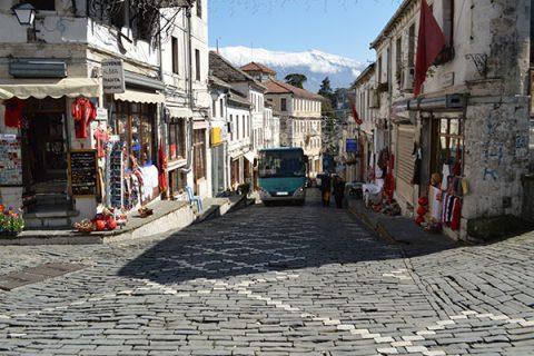 The Bazaar of Gjirokastra